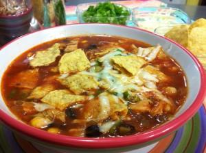 Chicken Tortilla Soup - watch video