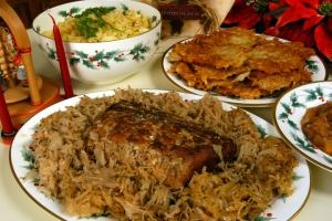 roast_pork_and_sauerkraut